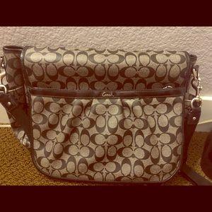 Diaper bag—- briefcase